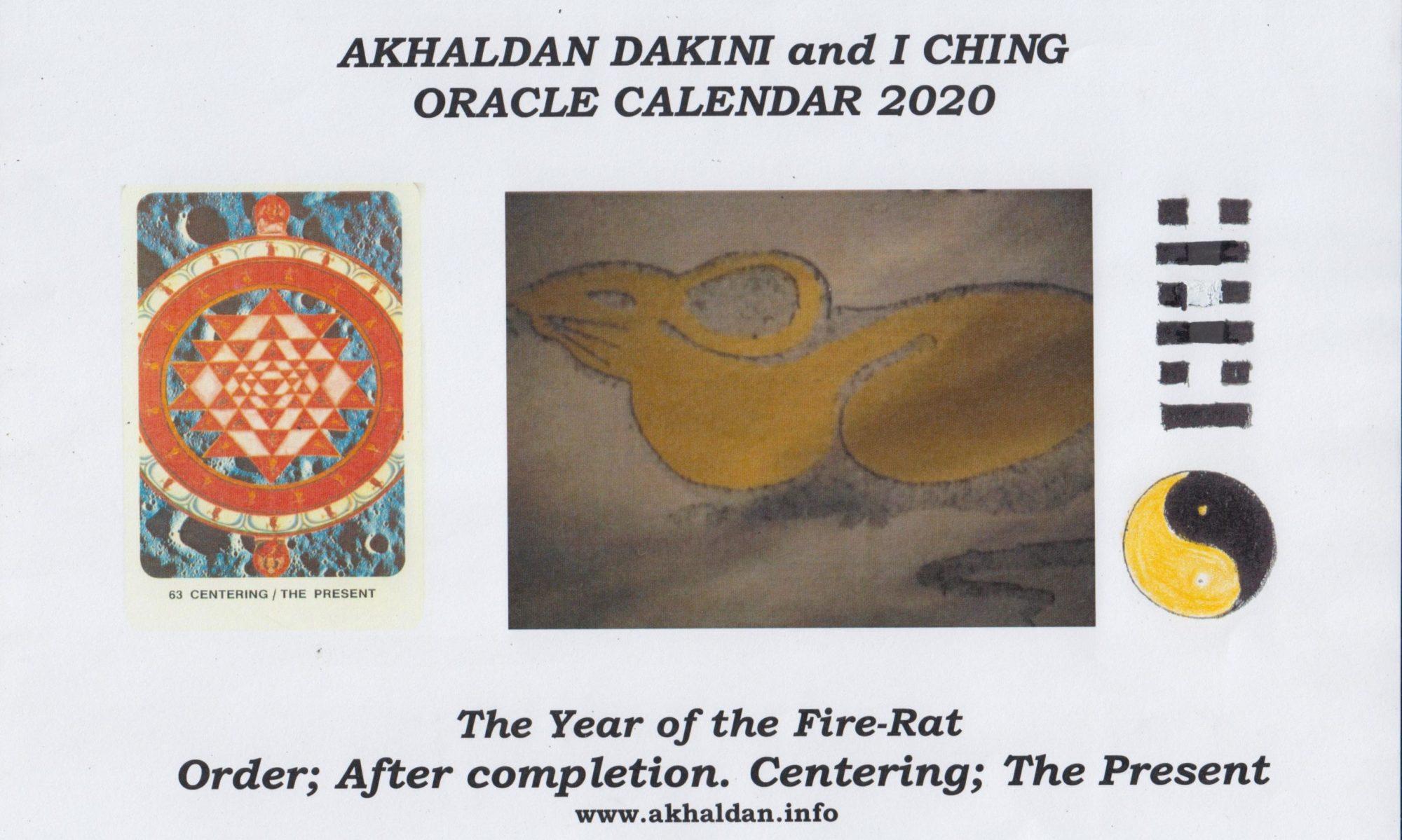 Akhaldan I Ching Calendar